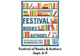 Bookmarks Festival returns September 6-9